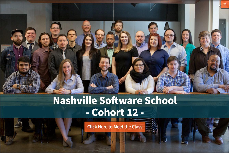 Nashville Software School Cohort 12 Class Website